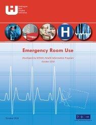 Emergency Room Use - Washington State Hospital Association