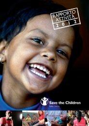 RAPPORTO ATTIVITà 2012 - Save the Children Italia Onlus