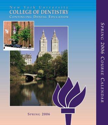 college of dentistry college of dentistry - New York University