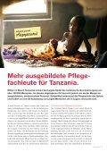 ausgebildete Pflege- fachleute für Tanzania. - SolidarMed - Seite 3
