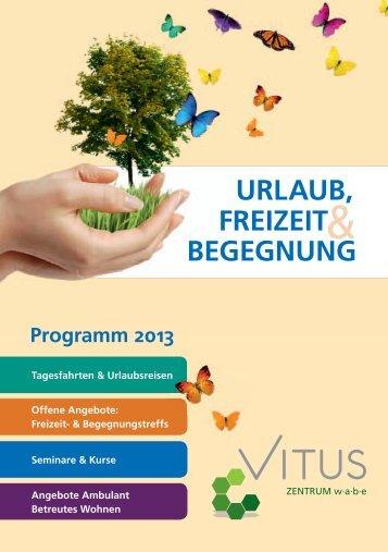 URLAUB, FREIZEIT BEGEGNUNG - Vitus