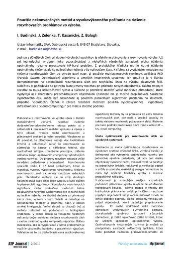 1st International Conference on Vehicle Registration - ATP Journal