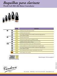 Vandoren CM317 Boquilla m15 para clarinete sib