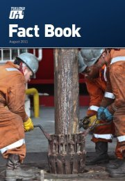 Tullow Oil plc Half-yearly Factbook 2011 - The Group