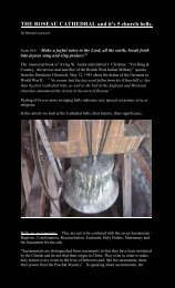 Church Bells - Dominica Academy of Arts and Sciences
