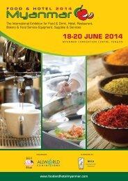 F&h14 Myanmar Flyer - Allworld Exhibitions