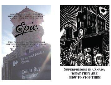 Superprisons in Canada - Wordpress Wordpress