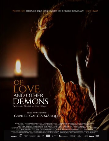 absence of love in gabriel garcia marquezs of love and other demons