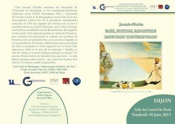 vendredi 10 juin 2011 - (ENSA) Dijon