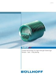 Thread technology for high-strength fastenings Simple – fast – long ...