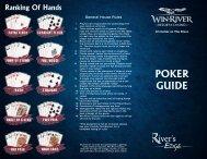 View our Poker Guide - Win-River Casino