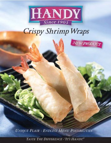 Handy Crispy Shrimp Wraps - Perkins
