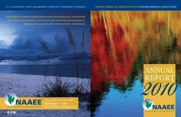 2010 - North American Association for Environmental Education