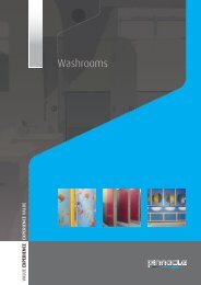 Washrooms - Pinnacle Furniture