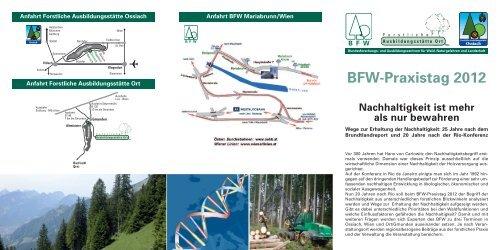 BFW-Praxistag 2012