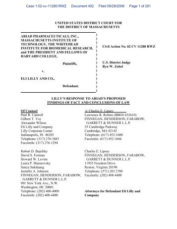 united states district court for the district of ... - Patent Baristas