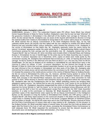 Communal Riots-2012.pdf - Indian Social Institute