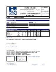 COPIA NO CONTROLADA COPIA NO C - Copamex