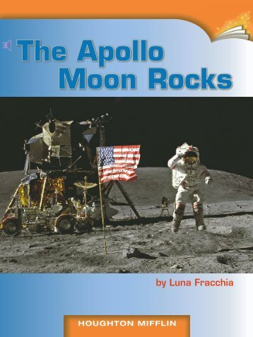 Lesson 2:The Apollo Moon Rocks