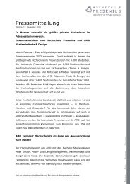 Akademie Mode & Design - Hochschule Fresenius