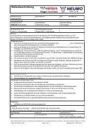 Stellenbeschreibung V-AWT PDF