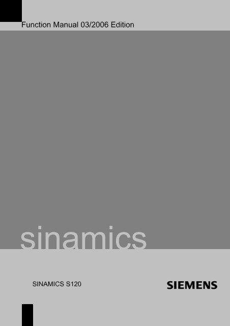 SINAMICS S120 Functi.. - Gregbotos.com