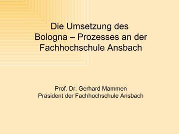 Prof. Dr. Gerhard Mammen