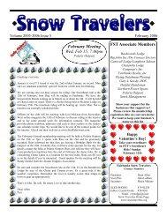 February 2006 - Fairbanks Snow Travelers