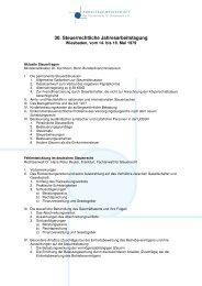 Arbeitsprogramm - Arbeitsgemeinschaft der Fachanwälte für ...