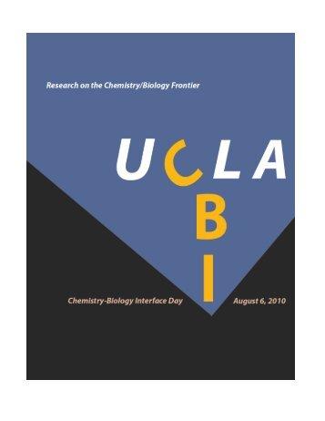 CBI Training Faculty - UCLA Chemistry and Biochemistry