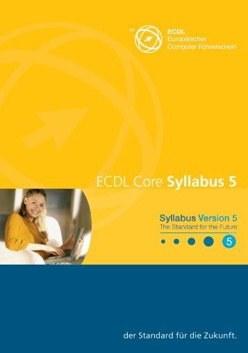 ECDL Core Syllabus 5