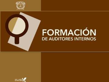 formacion de auditor.. - MiAulaVirtual.com