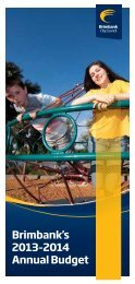 Annual Budget Brochure - Brimbank City Council