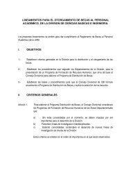 LINEAMIENTOS PARA EL OTORGAMIENTO DE ... - CBI - UAM