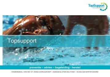Enkelletsel - TopSupport