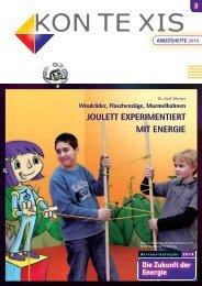 JOULETT EXPERIMENTIERT MIT ENERGIE - Tjfbg