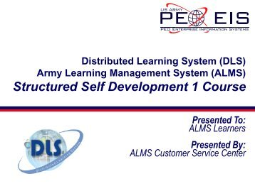 Structured Self Development 1 Course