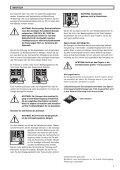 Anleitung für Montage, Betrieb und Wartung Installation, Operating ... - Page 5