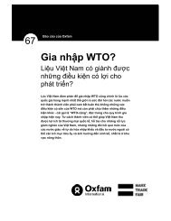 Gia nhập WTO? - MRI