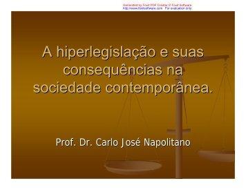 A hiperlegislação e suas consequências na sociedade ...