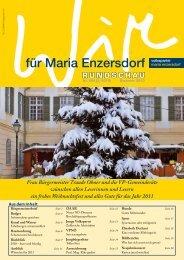 RUNDSCHAU - VP Maria Enzersdorf