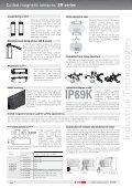 Coded magnetic sensors SR series Pizzato Elettrica - Industrial ... - Page 6