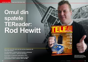 Rod Hewitt - TELE-satellite International Magazine