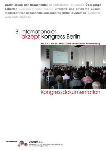 Aktionsbündnis Hepatitis und Drogengebrauch ... - akzept e.V.