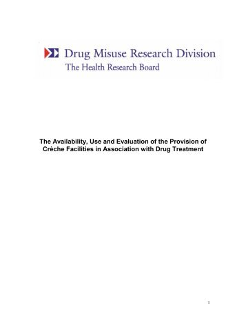 Download PDF (90 Kb) - Health Research Board