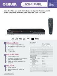 DVD-S1500 - AUDIO KLAN