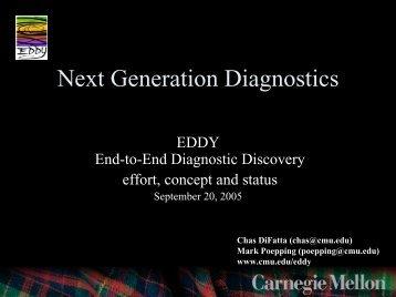Next Generation Diagnostics - EDDY - Internet2 Middleware Initiative