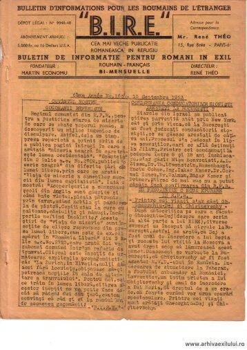 BIRE NR. 16. 1953