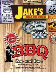 Jake's breakfast menu:Layout 1 6/19/09 11:37 AM Page 1