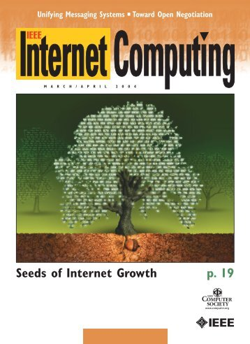 Seeds of Internet Growth p. 19